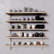 Ikea te och kaffe 3d model