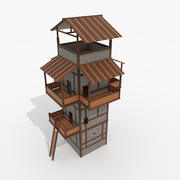 Roman Fantasy WatchTower 3d model