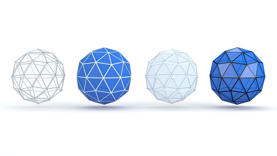 IcoSphere royalty-free 3d model - Preview no. 6