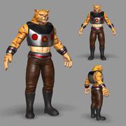 Gatto mutante 3d model