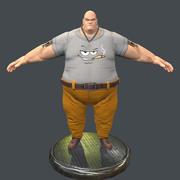 Gangster Adam 3d model