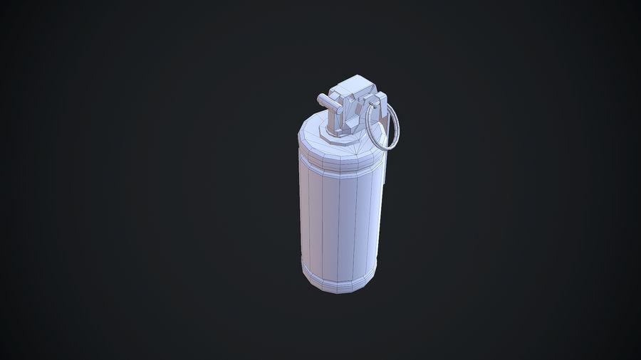 granata AN / M8 royalty-free 3d model - Preview no. 9