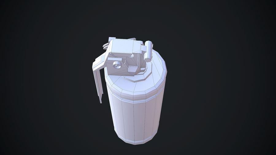granata AN / M8 royalty-free 3d model - Preview no. 12
