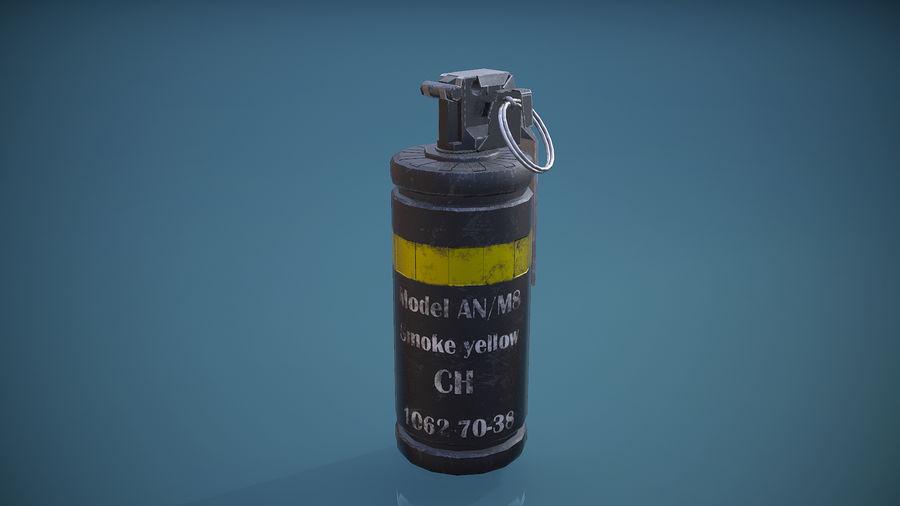granata AN / M8 royalty-free 3d model - Preview no. 2