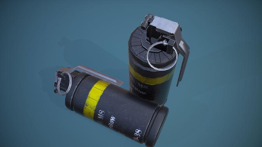 granata AN / M8 royalty-free 3d model - Preview no. 7