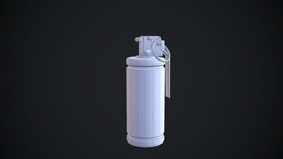 granata AN / M8 royalty-free 3d model - Preview no. 10