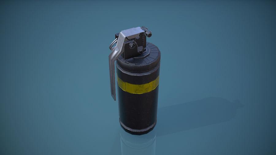 granata AN / M8 royalty-free 3d model - Preview no. 4