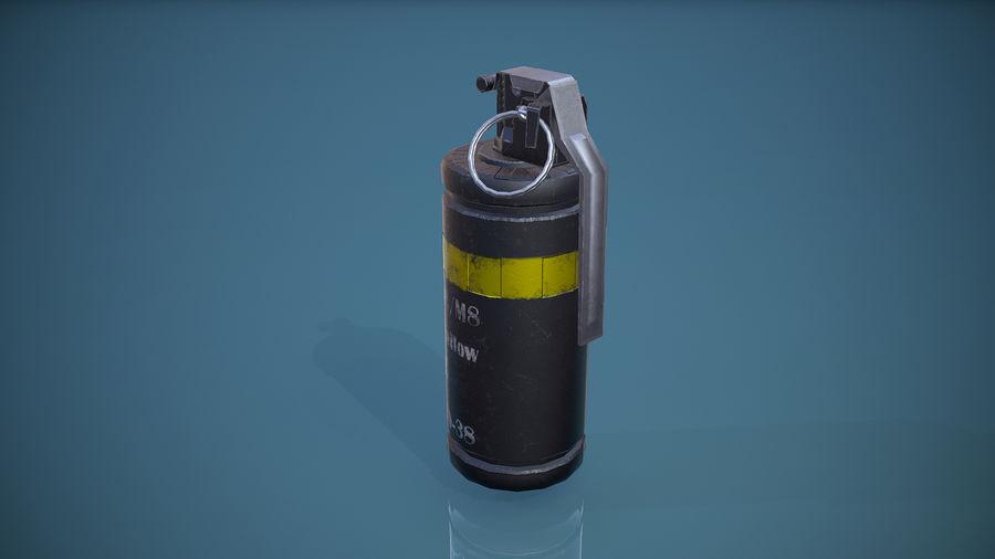 granata AN / M8 royalty-free 3d model - Preview no. 3