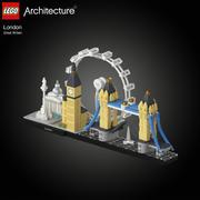 Лего 21034 Лондон 3d model