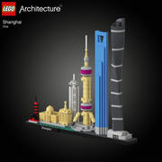 Lego 21039 Shanghai 3d model