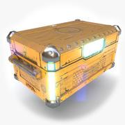 Sci Fi göğüs 3d model