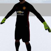 David De Gea 3d model