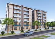 Bygga moderna bostäder 3d model