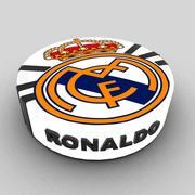 Real Madrid-cake 3d model