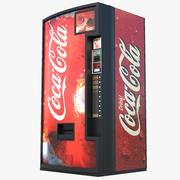 Máquina de venda automática de refrigerante 3d model