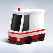 Oyuncak araba 3d model