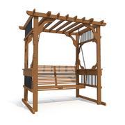 Pergola Swing 3d model