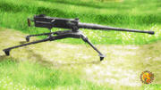 M2 Browning HP 3d model