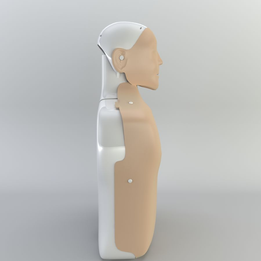 Resuscitation Doll royalty-free 3d model - Preview no. 8