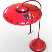 UFO 램프 3d model