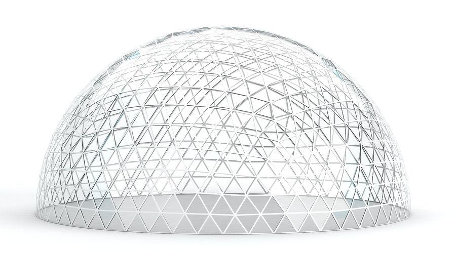 Geodätische große Kuppel royalty-free 3d model - Preview no. 4