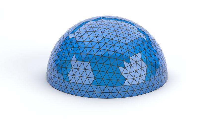 Geodätische große Kuppel royalty-free 3d model - Preview no. 2