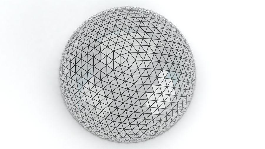 Geodätische große Kuppel royalty-free 3d model - Preview no. 7