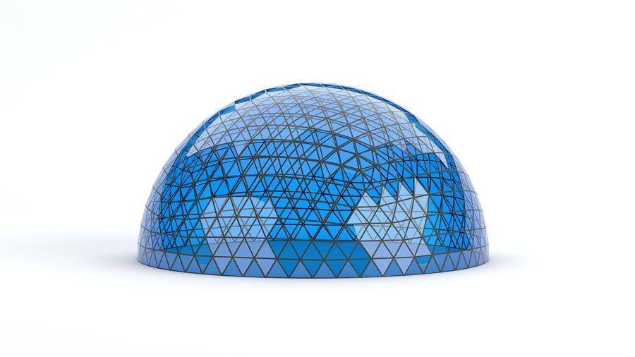 Geodätische große Kuppel royalty-free 3d model - Preview no. 9