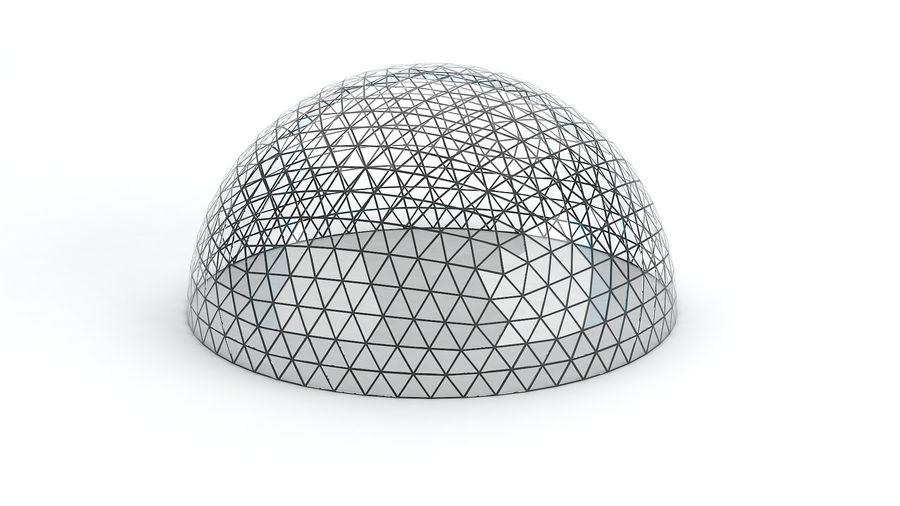 Geodätische große Kuppel royalty-free 3d model - Preview no. 3