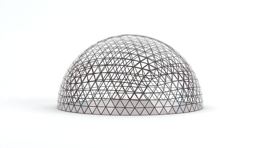 Geodätische große Kuppel royalty-free 3d model - Preview no. 10