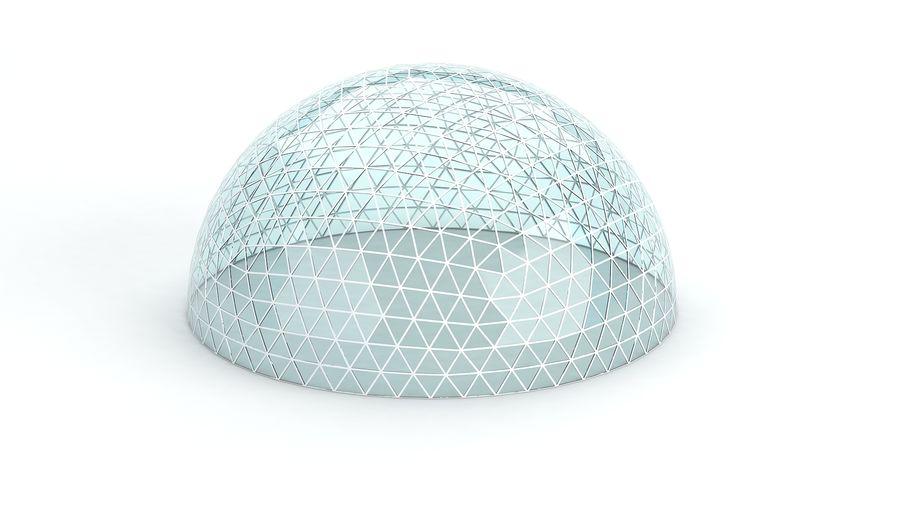 Geodätische große Kuppel royalty-free 3d model - Preview no. 5