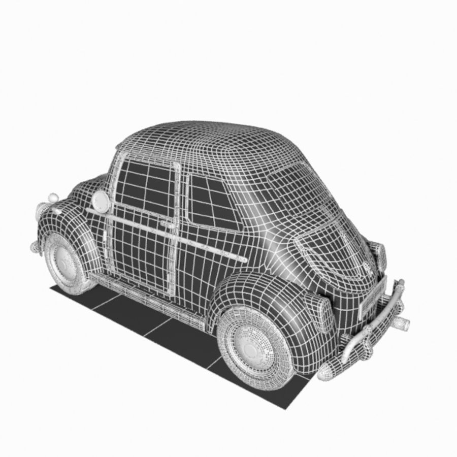 Toon Car royalty-free 3d model - Preview no. 16