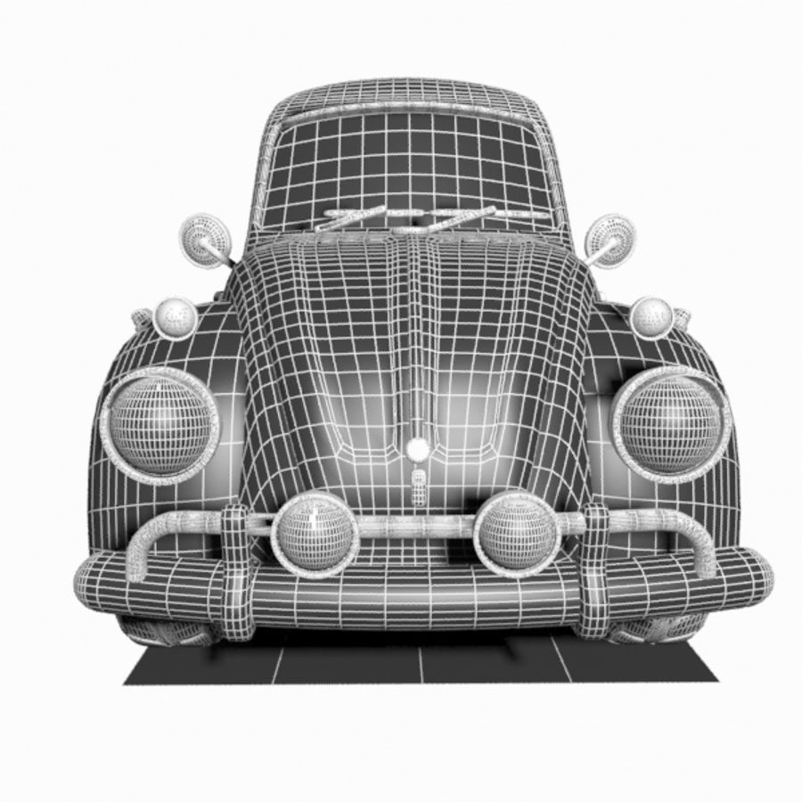 Toon Car royalty-free 3d model - Preview no. 13
