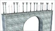 Arco de piedra modelo 3d