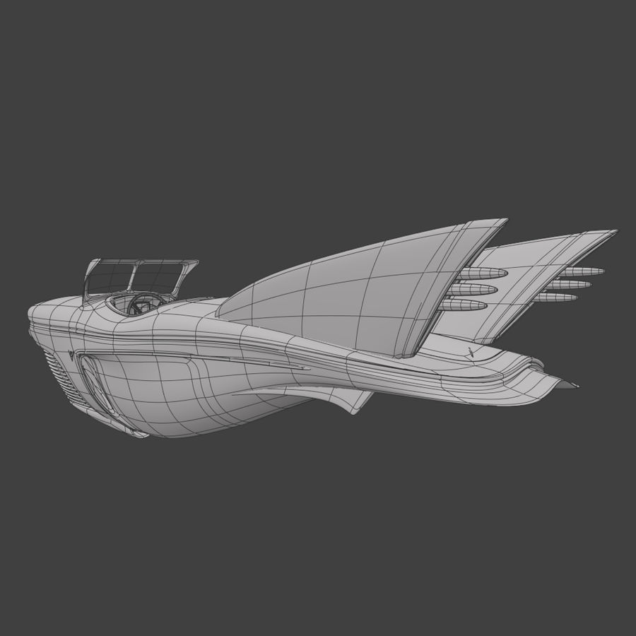 Voiture de base 1 royalty-free 3d model - Preview no. 9