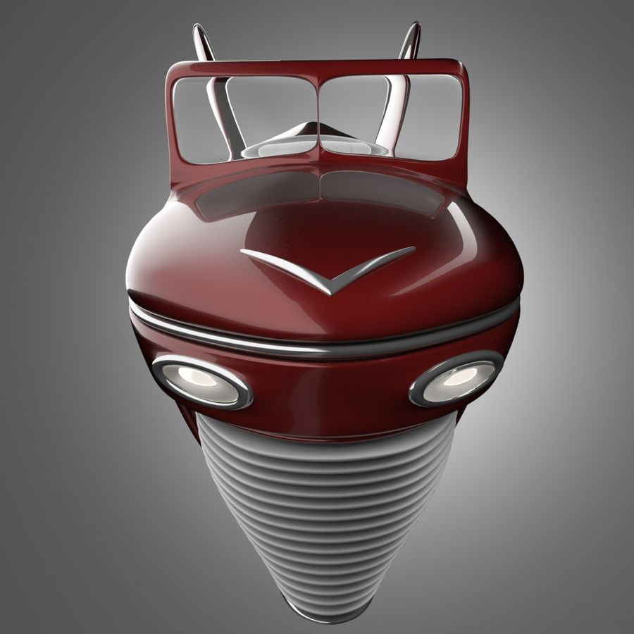 Voiture de base 1 royalty-free 3d model - Preview no. 5