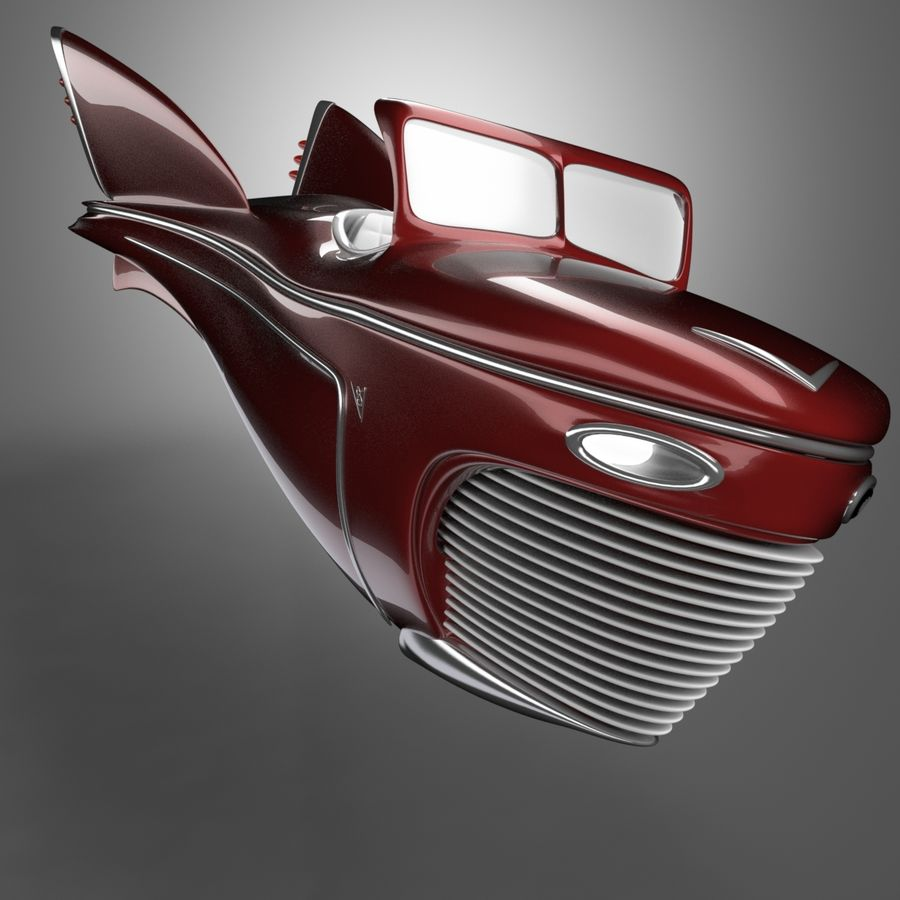 Voiture de base 1 royalty-free 3d model - Preview no. 2