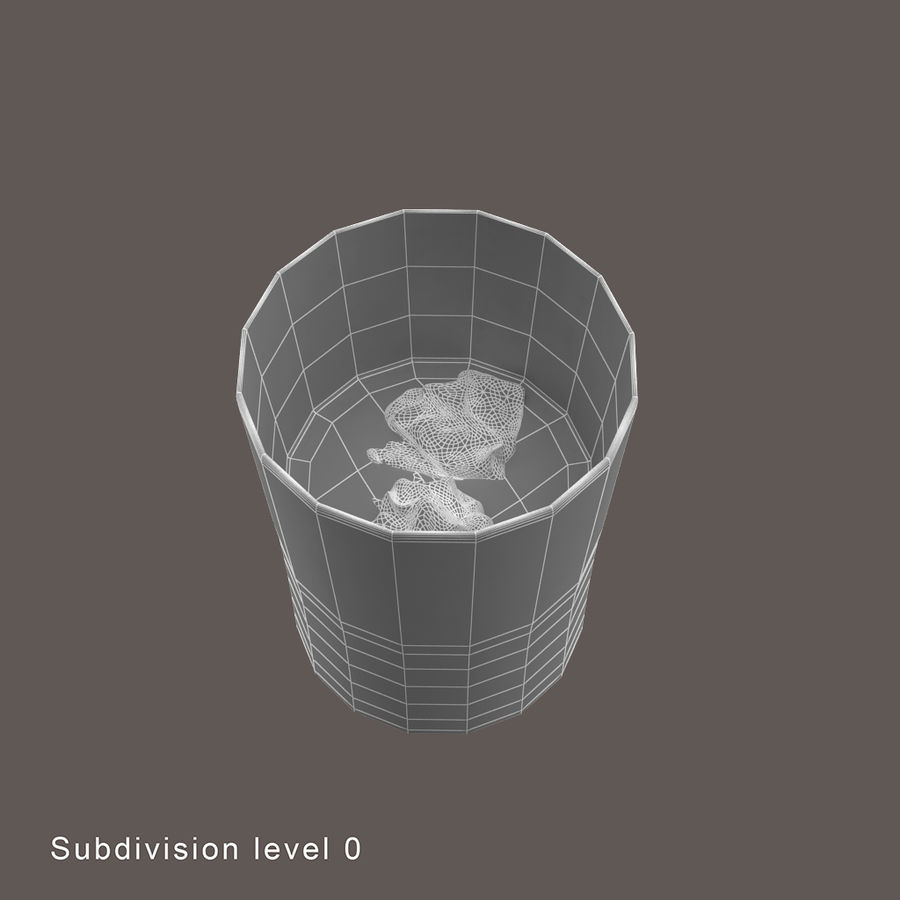 Whiskey Glass royalty-free 3d model - Preview no. 6