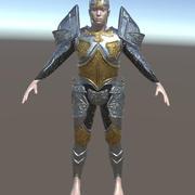 Fantasy Iron Armor 3d model