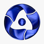 ROSATOM Logo 3d model