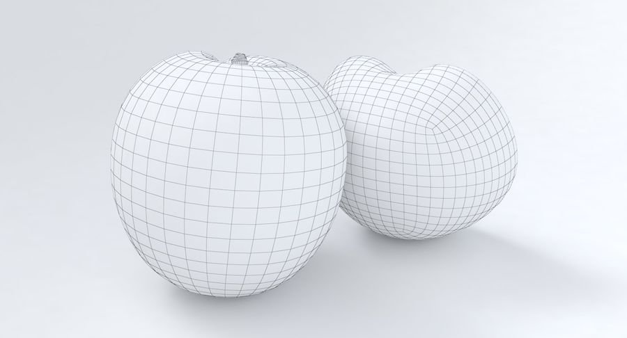 Apricot Fruit royalty-free 3d model - Preview no. 10