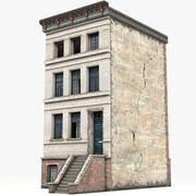 Townhouse 1 3d model