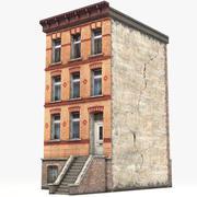 Casa de pueblo 3 modelo 3d