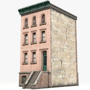 Casa de pueblo 8 modelo 3d