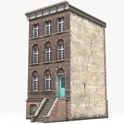 Casa de pueblo 10 modelo 3d