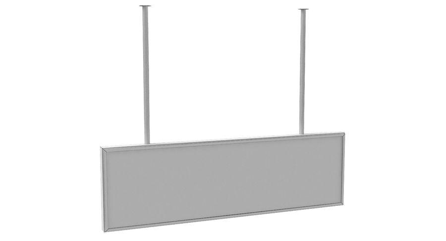 Luchthaven transfer teken royalty-free 3d model - Preview no. 8