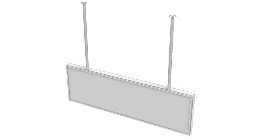 Luchthaven transfer teken royalty-free 3d model - Preview no. 9