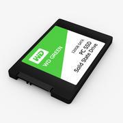 WD绿色固态硬盘 3d model