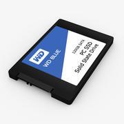 WD蓝色SSD 3d model
