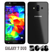 Samsung Galaxy 7 Duo 2018 3d model